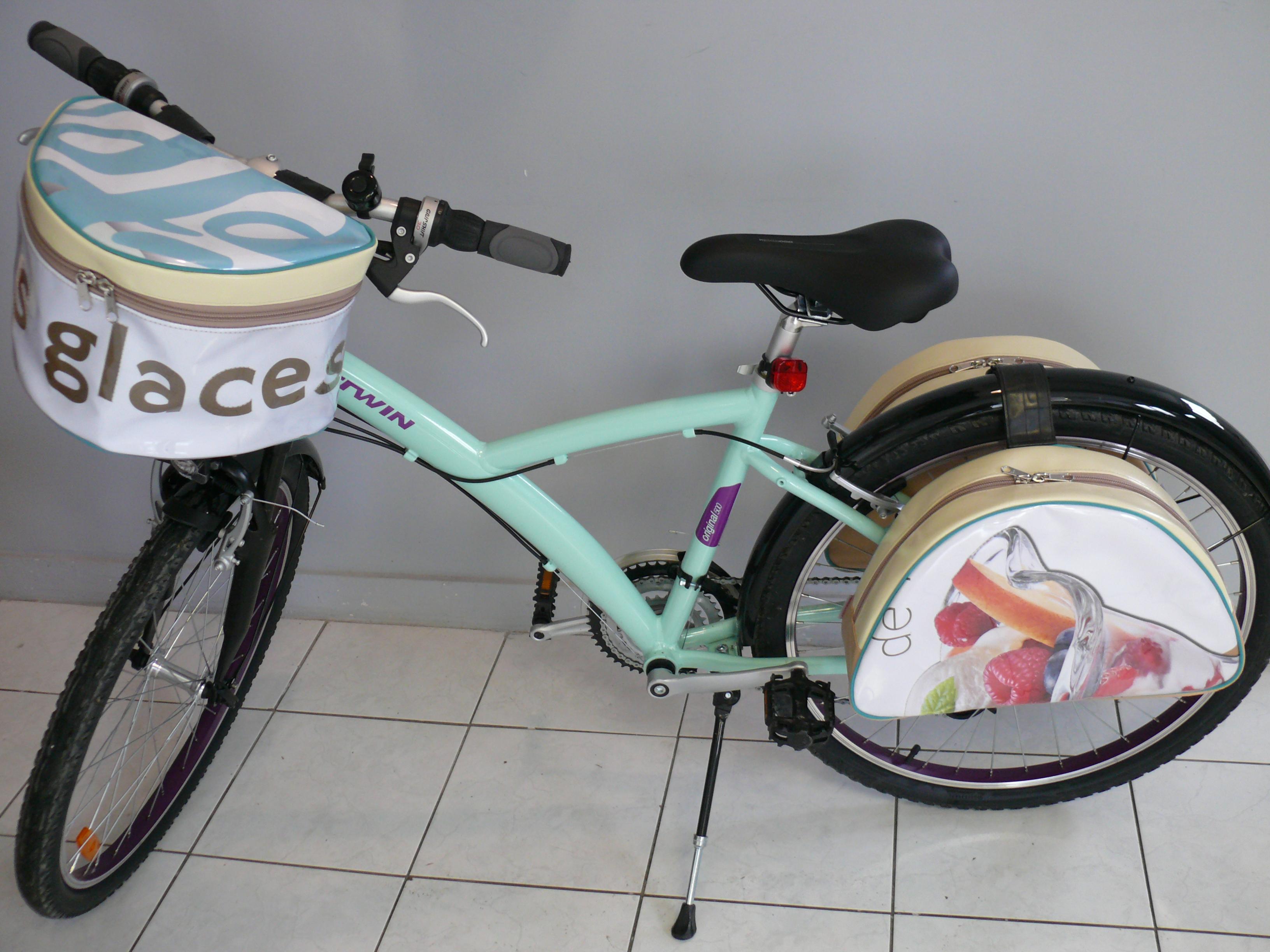Sacoches et panier à vélo