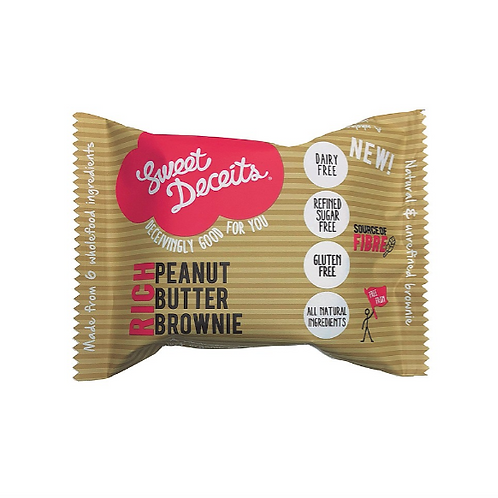 Peanut Butter Brownies x 8