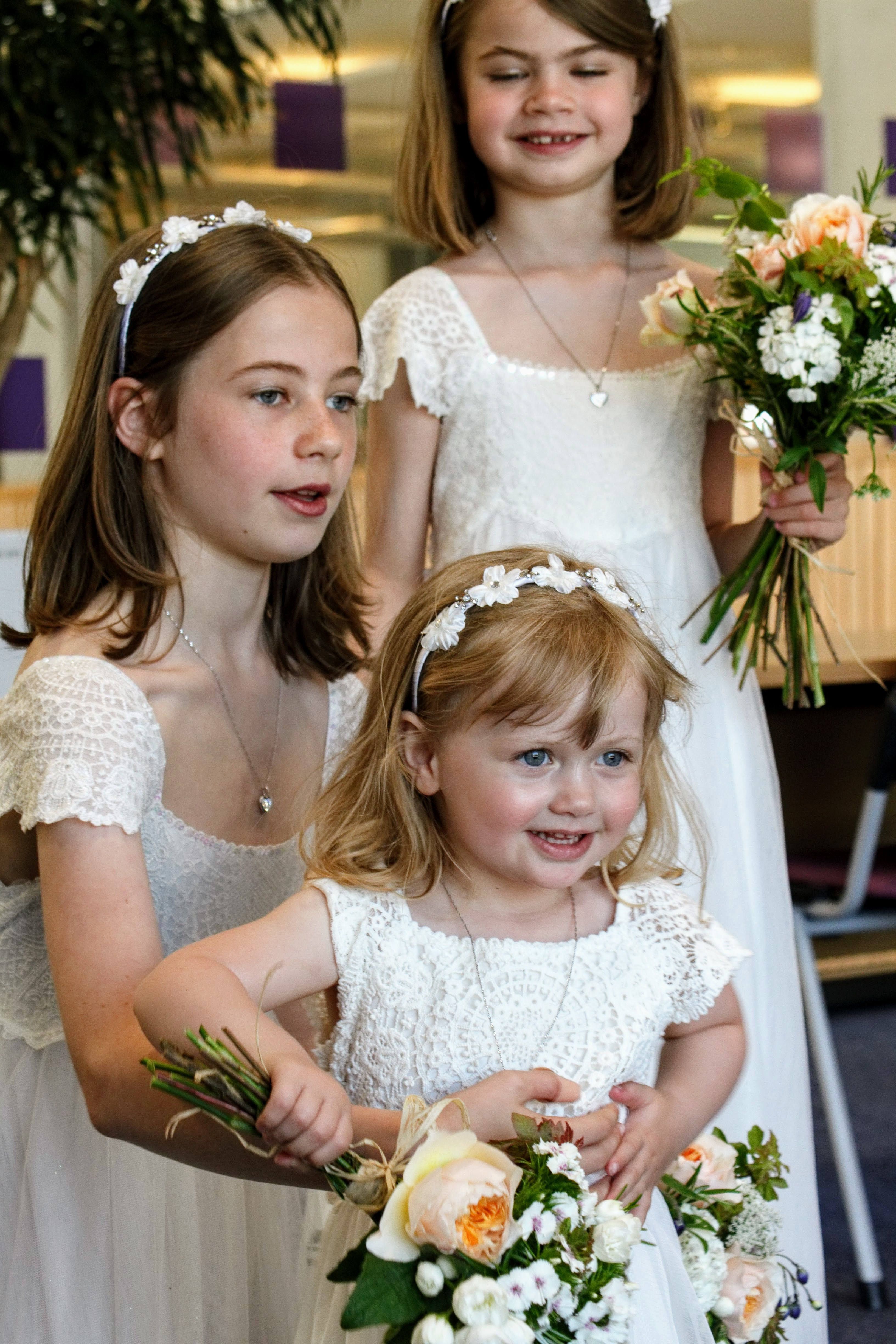 Bridesmaids & Flower Girl Bouquets