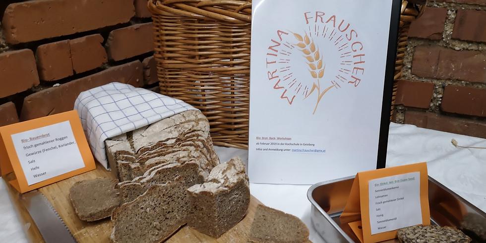 Brotbackkurs - Bio Brote