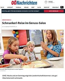 OÖNachrichten_10.11.18_Schmankerl_Reise