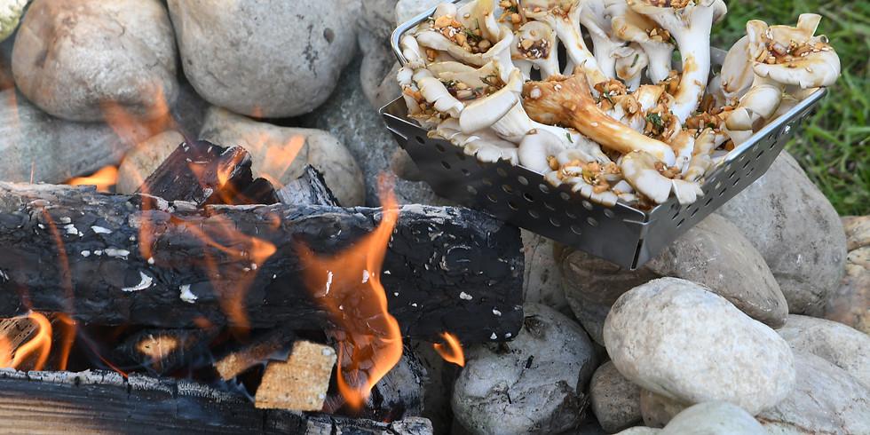 Vegane Lagerfeuerküche