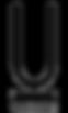U cocktail Bar logo white on black - Cop