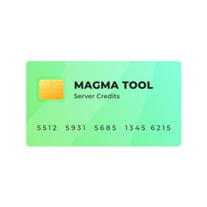 MAGMA TOOL SERVER CREDITS