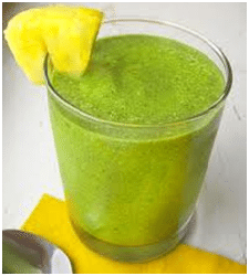 Healthy Green Pineapple Shake