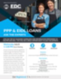 RRR-PPP & EIDL Loans Webinar July 8 Flye