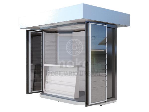 MUE-12-01 - Kiosco octagonal largo