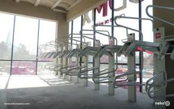 MUE-13-03 - Aparcabicicletas vertical asistido