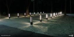 Bolardo luminoso Toluca - Autodromo