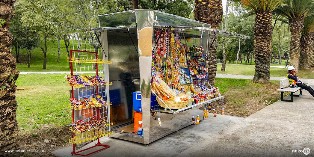 Modulo de comercio retangular chico - chapultepec