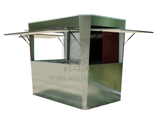 KCH-15-10 - Modulo de comercio rectangular grande