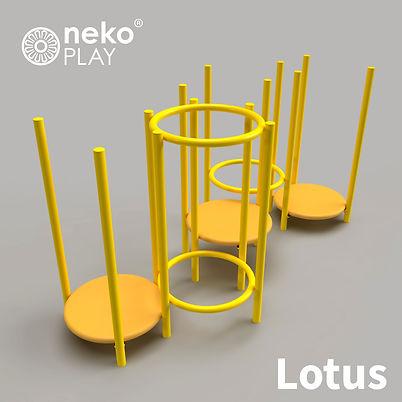 Juego infantil, Lotus, escultura lúdica