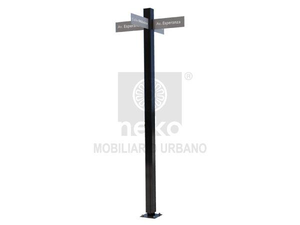 TOL-12-25 - Poste de señalización - Línea Toluca