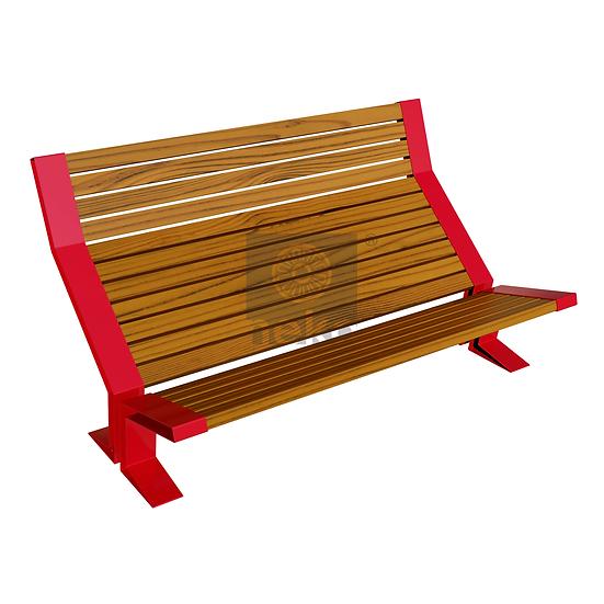 QRO-10-08 - Tumbona en madera - Línea Querétaro