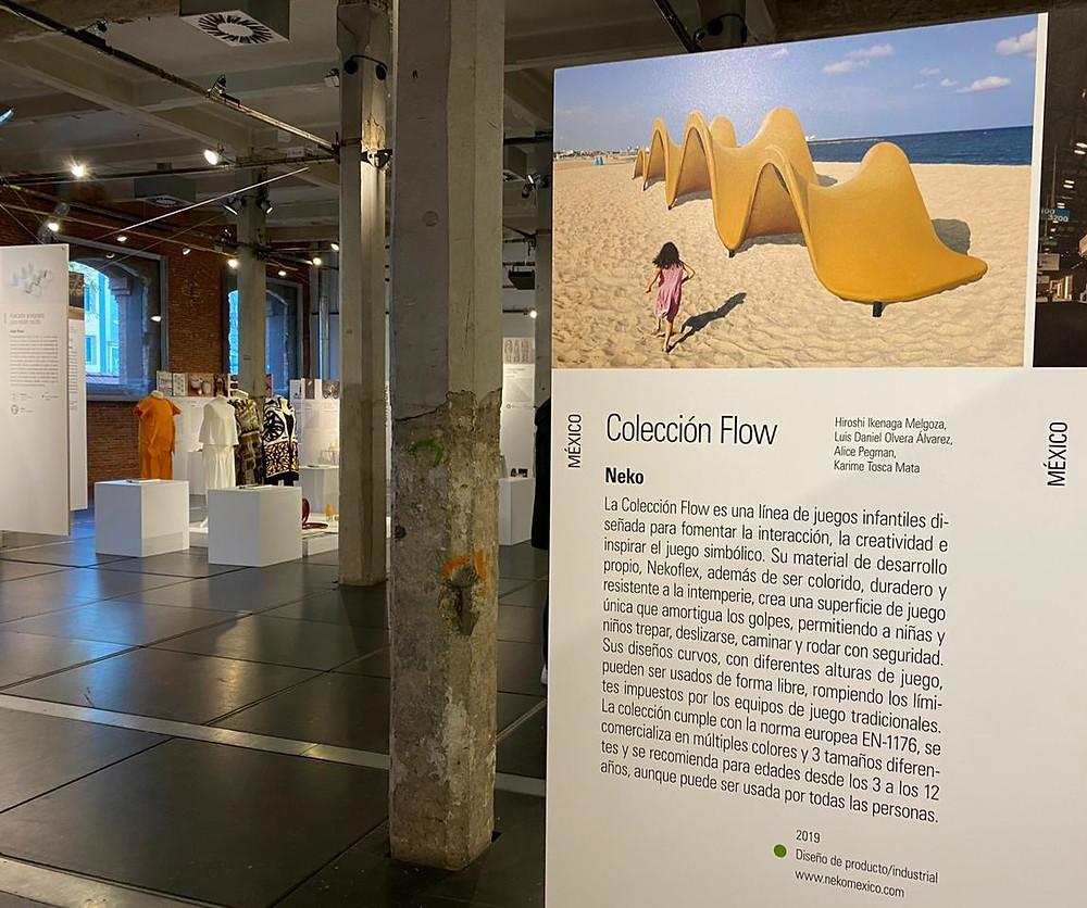 Colección Flow   NekoPlaywaves en la Bienal Iberoamericana de Diseño BID20