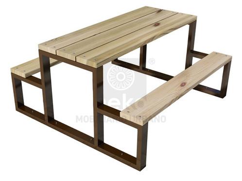 0fdb1b990be Mesa para picnic en madera línea toluca jpg 498x373 Mesas en madera