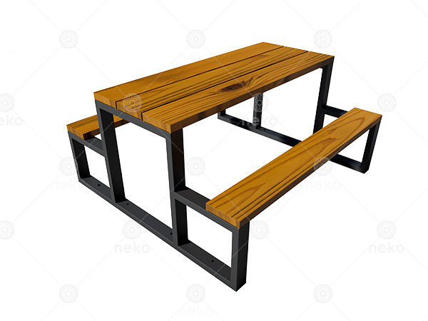 TOL-11-06 - Mesa para picnic en madera - Línea Toluca