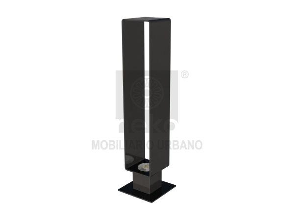 MOR-15-13-L - Bolardo luminoso - Línea Morelia