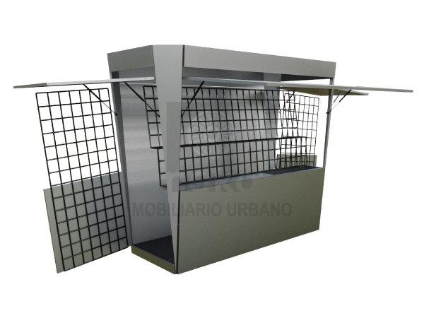 KCH-15-11 - Modulo de comercio rectangular chico