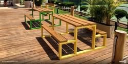 Mesas Toluca en madera