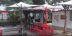 Parasol giratorio y mesa de picnic Toluca