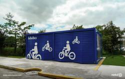 MUE-13-07 - Kiosco para bicicletas