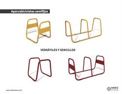 ParquiBicis_Aparcabicicletas-semifijo_Opciones-NekoCycle_MUE-20-03_MUE-20-04_MUE-20-05_MUE-20-06