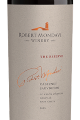 Mondavi Reserve To Kalon Vineyard Cabernet