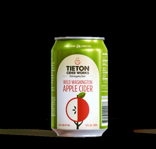 Tieton Washington Apple Cider-can