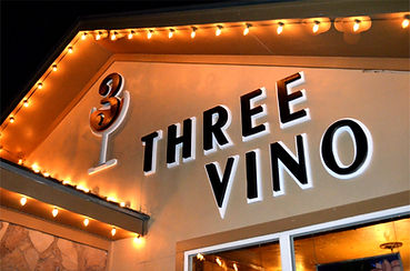 3 Vino Wine Bar at 206 Main St in Roanoke, Texas