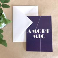 Grußkarte – Amore Mio