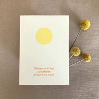 Grußkarte – Sunshine after the Rain
