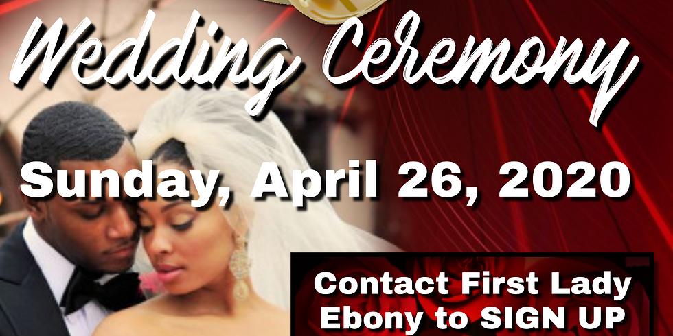 The Covenant Wedding Ceremony