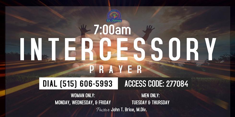 Morning Intercessory Prayer