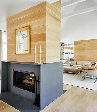 Formal Granite Surround Fireplace