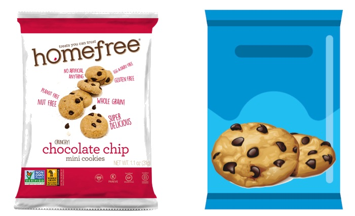 Homefree Cookies Vs An Iconic Brand