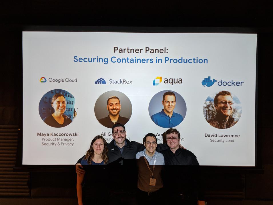 Google security talks during RSA 2018