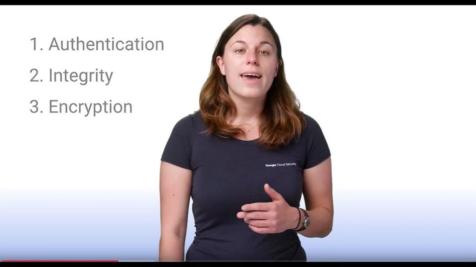Informational video: Encryption in transit