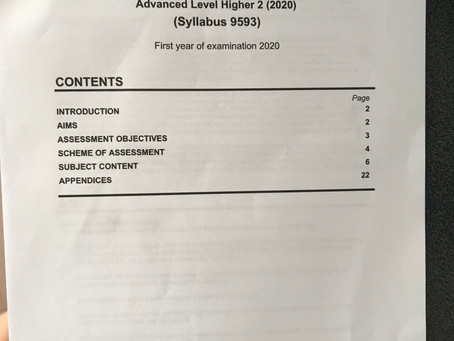 5 Steps to study for New POA A Level Syllabus 9593