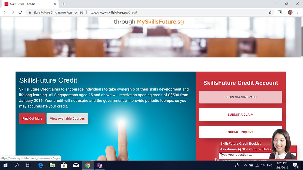 use Skill Future Credit