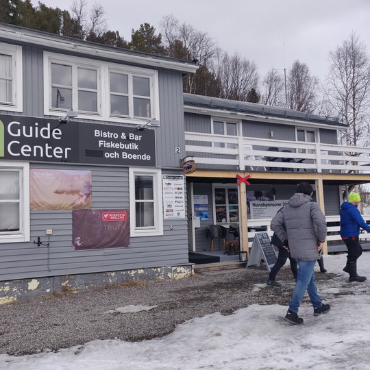 Lone guide center and a networking place in Ammarnas