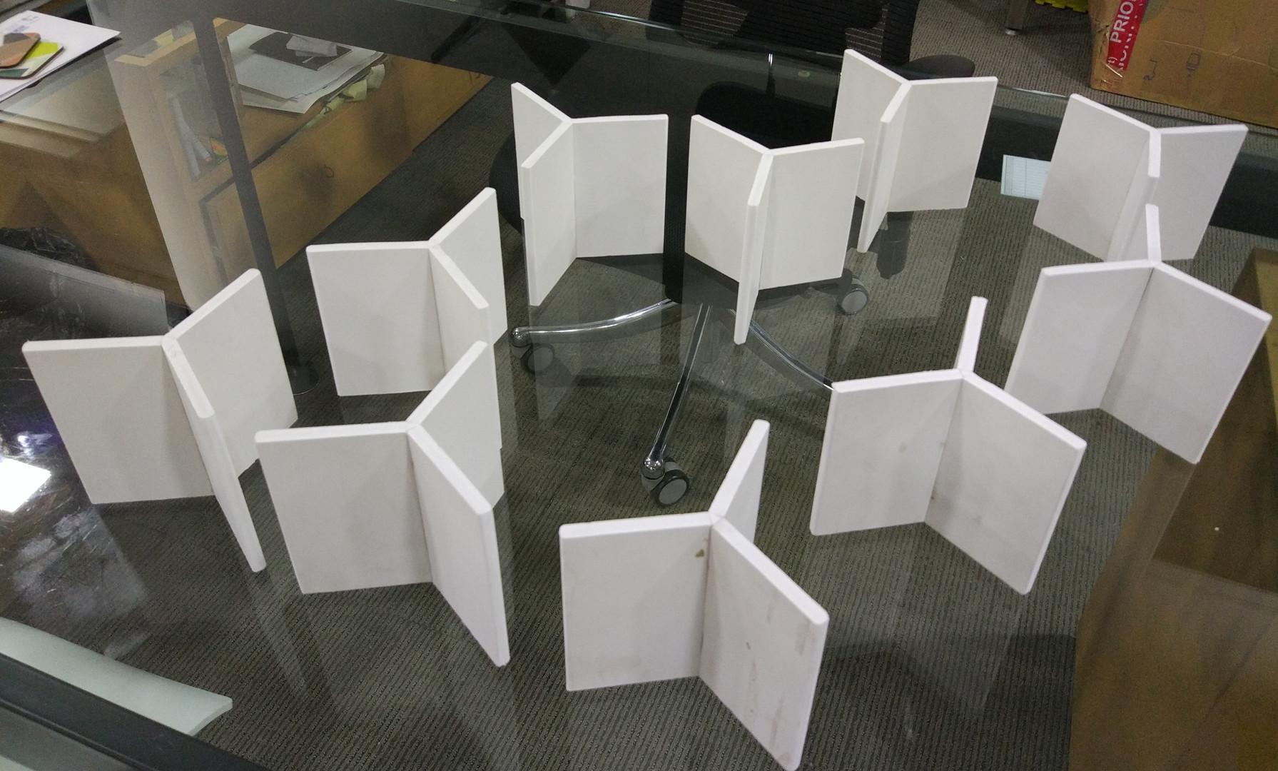 Modules in foam board