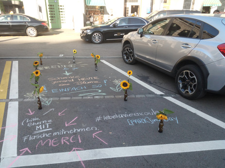 (park)ing Day meets Happiness