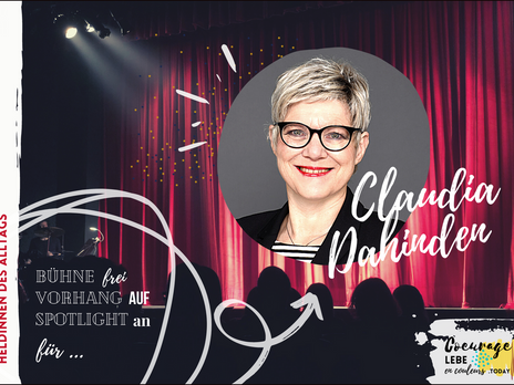 Heldin des Alltags: Claudia Dahinden