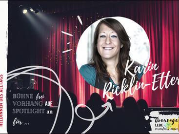 Heldin des Alltags: Karin Ricklin-Etter