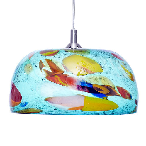 Turquoise Pendent light L674