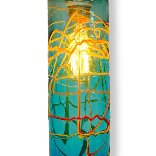 Art glass with Edison light L155