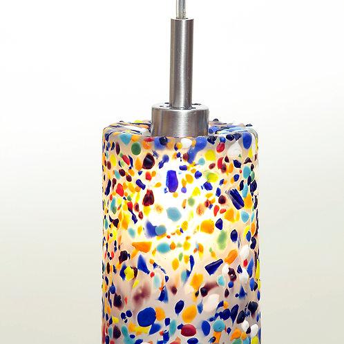 Confetti multi color mini pendent L543