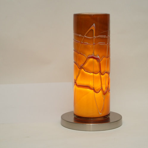 blown glass  table lamp L420A