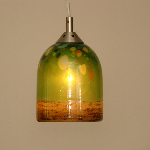 lime green pendent L600